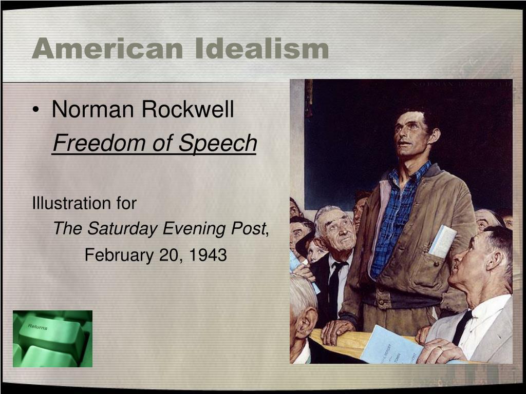 American Idealism