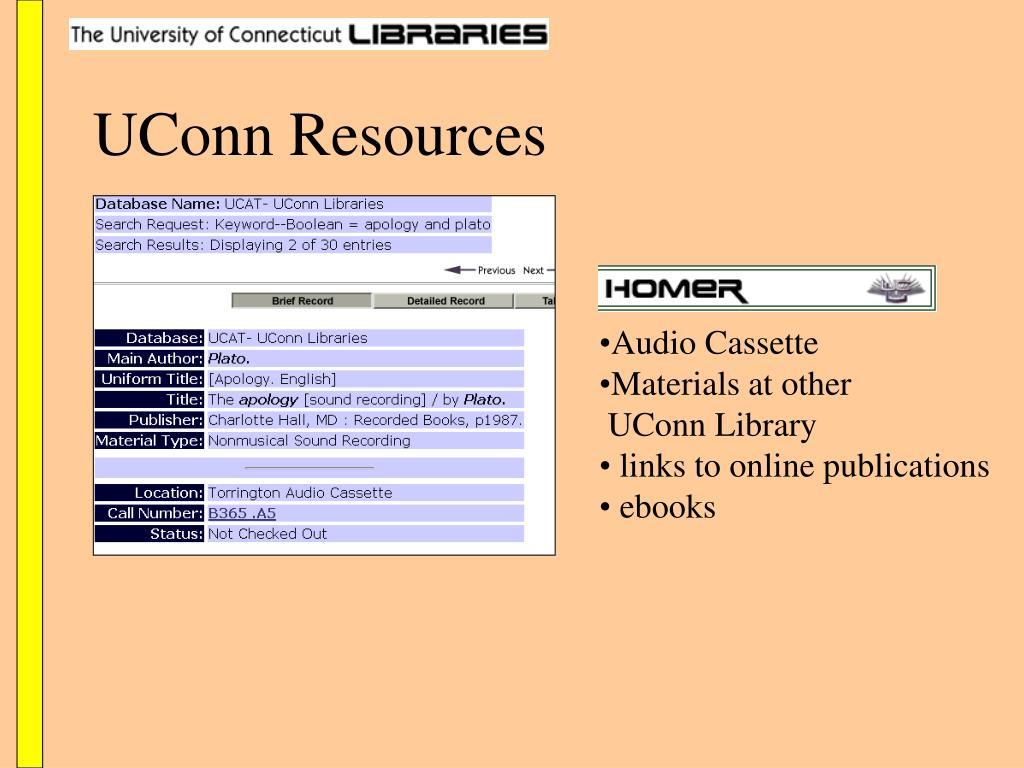 UConn Resources