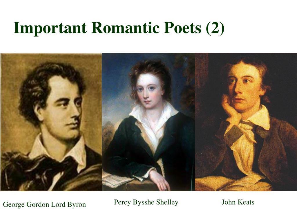 Important Romantic Poets (2)