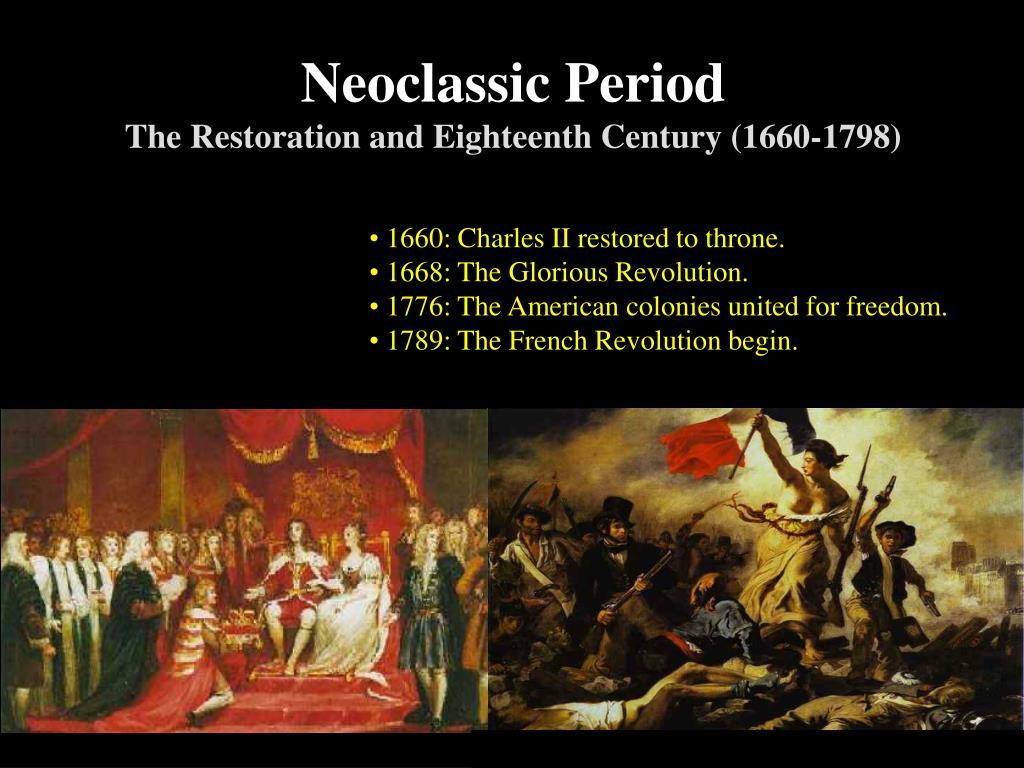 Neoclassic Period