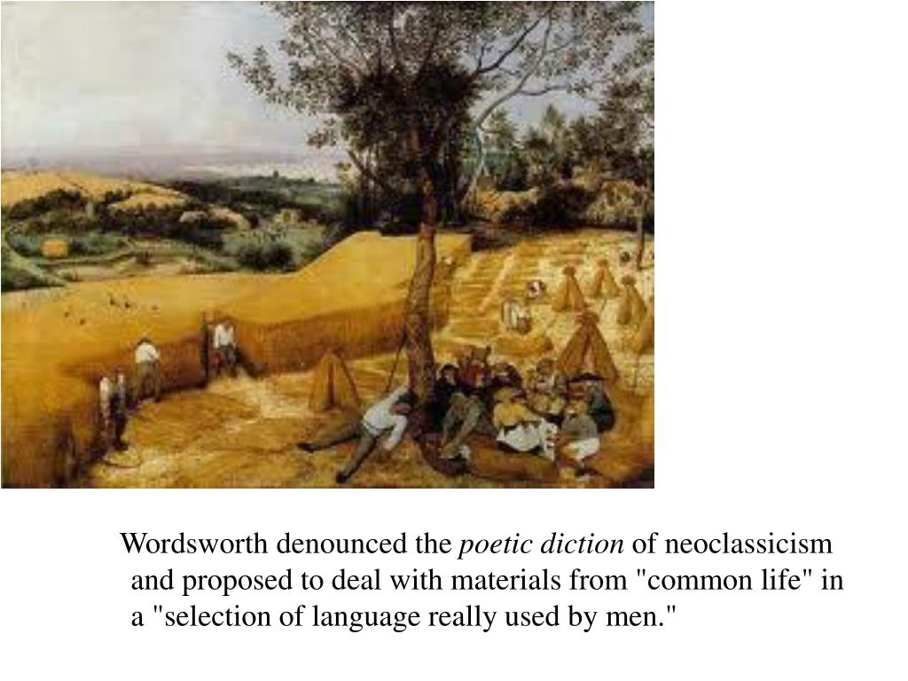 Wordsworth denounced the