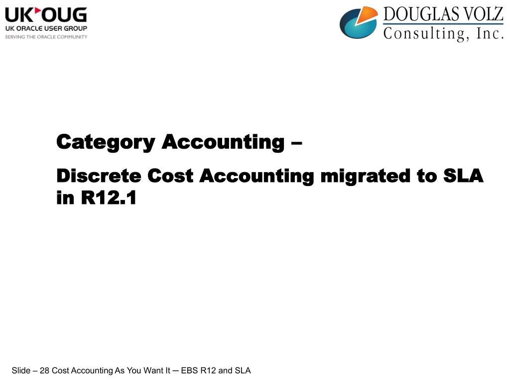 Category Accounting –