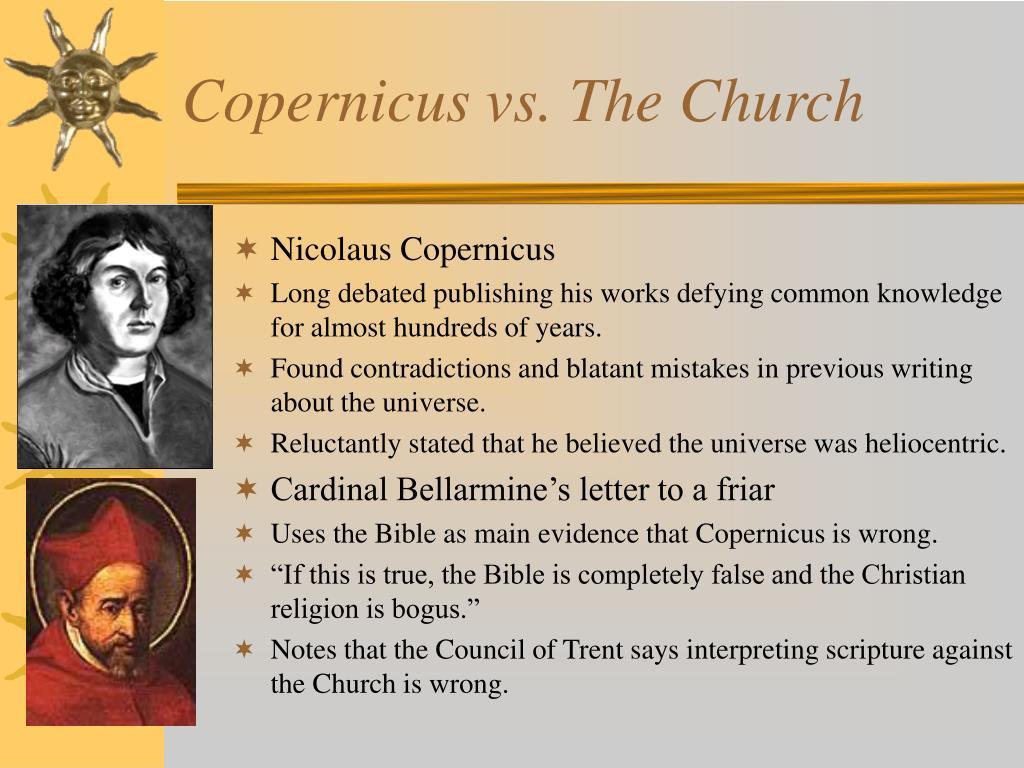 Copernicus vs. The Church