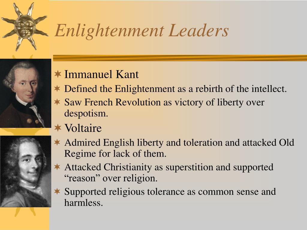 Enlightenment Leaders