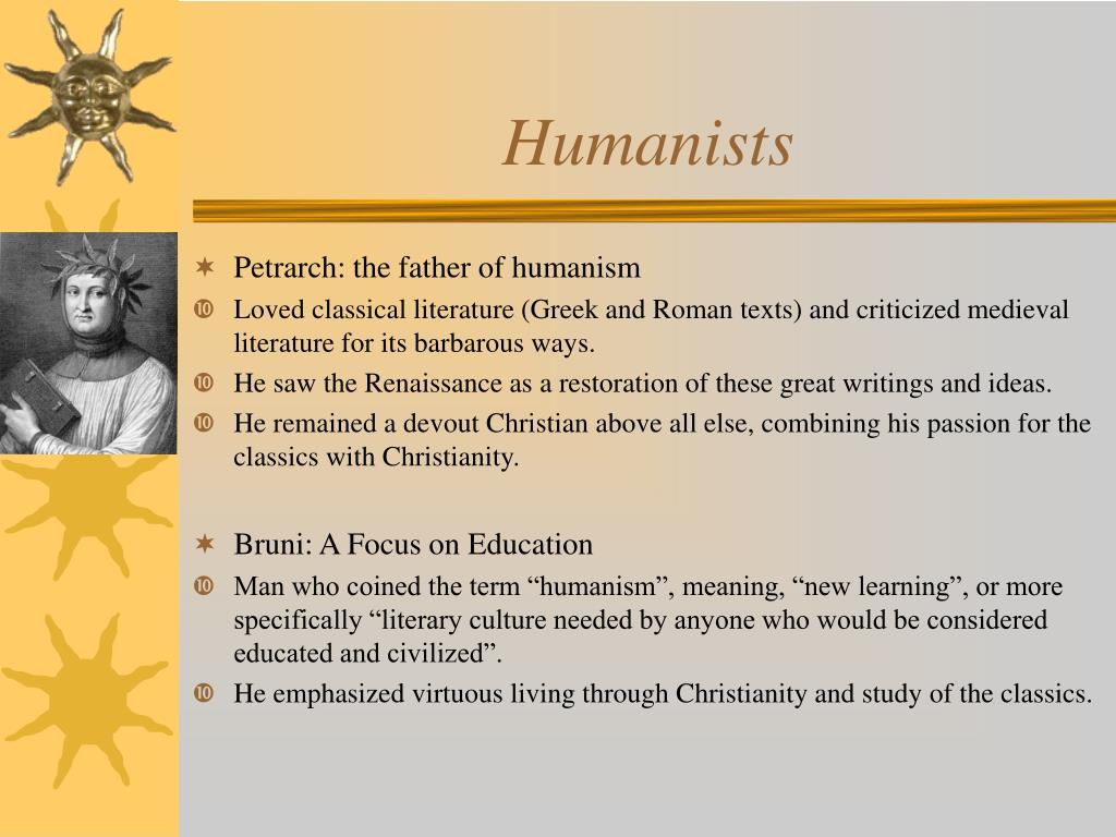 Humanists