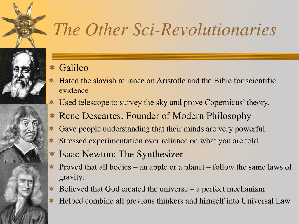 The Other Sci-Revolutionaries