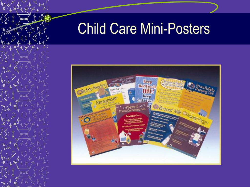 Child Care Mini-Posters