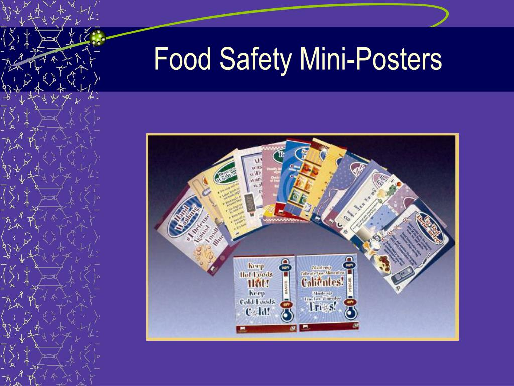Food Safety Mini-Posters
