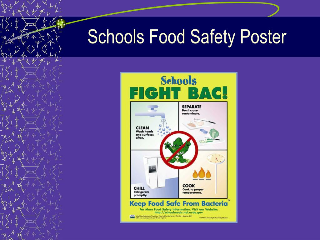 Schools Food Safety Poster