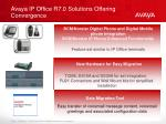 avaya ip office r7 0 solutions offering convergence