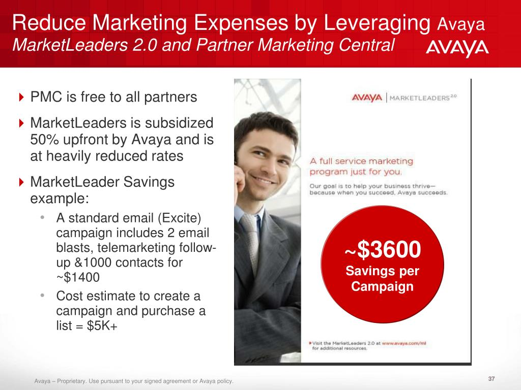 Reduce Marketing Expenses by Leveraging