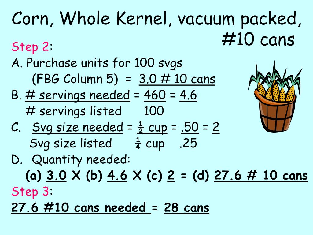 Corn, Whole Kernel, vacuum packed,