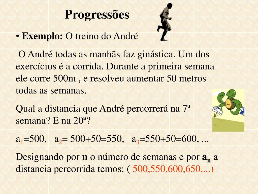 Progressões