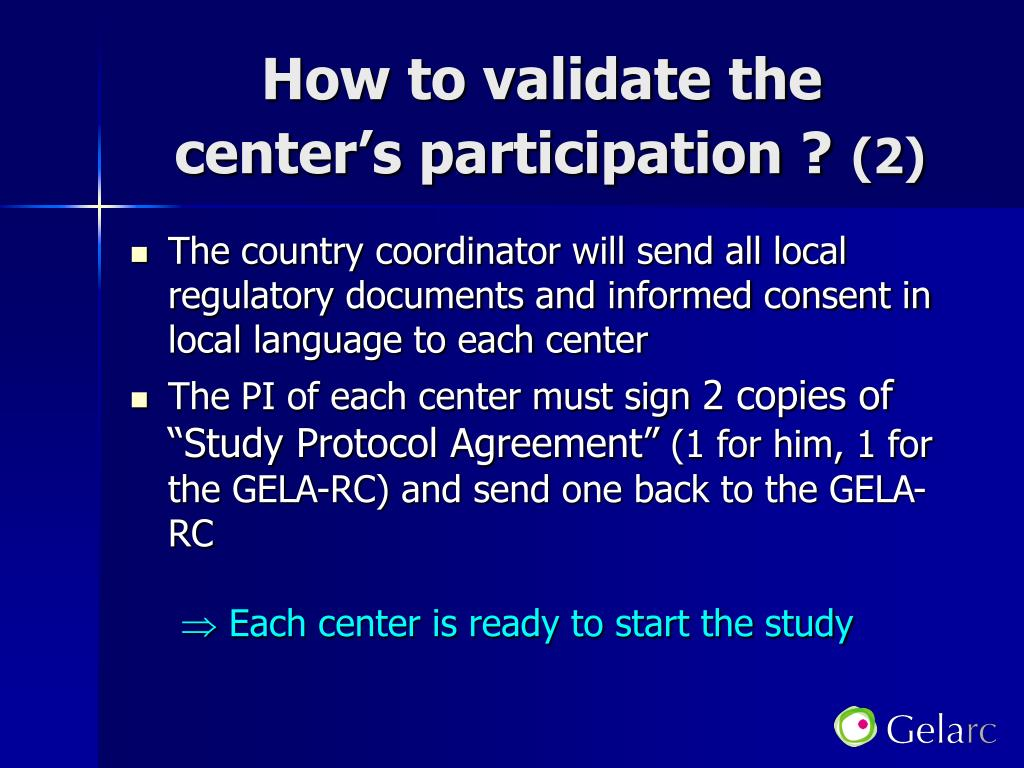 How to validate the