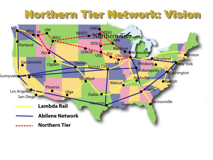 Northern Tier Network: Vision
