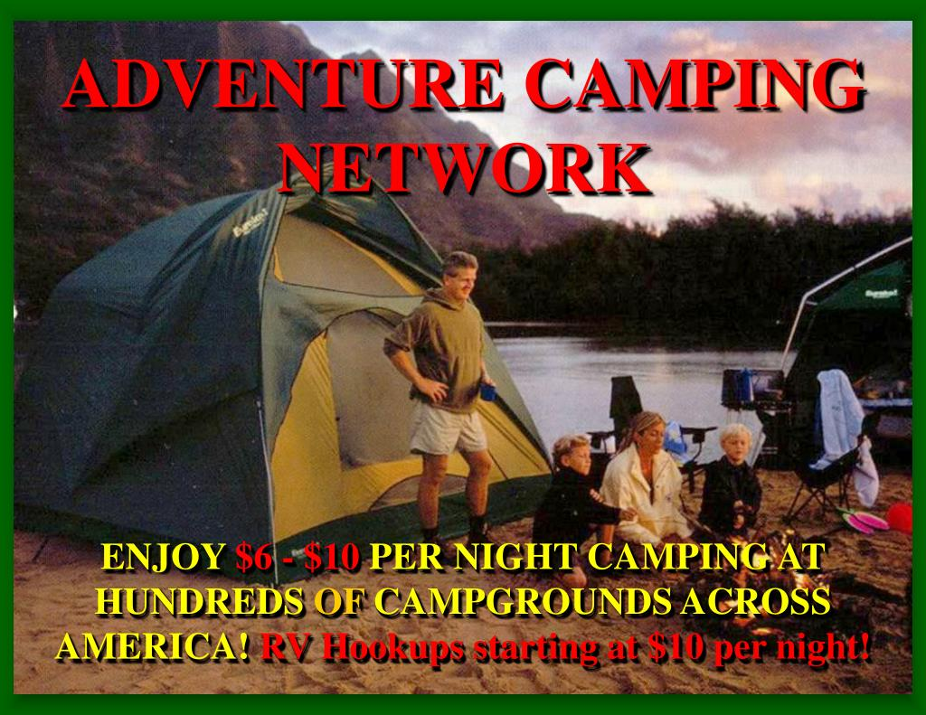 ADVENTURE CAMPING NETWORK