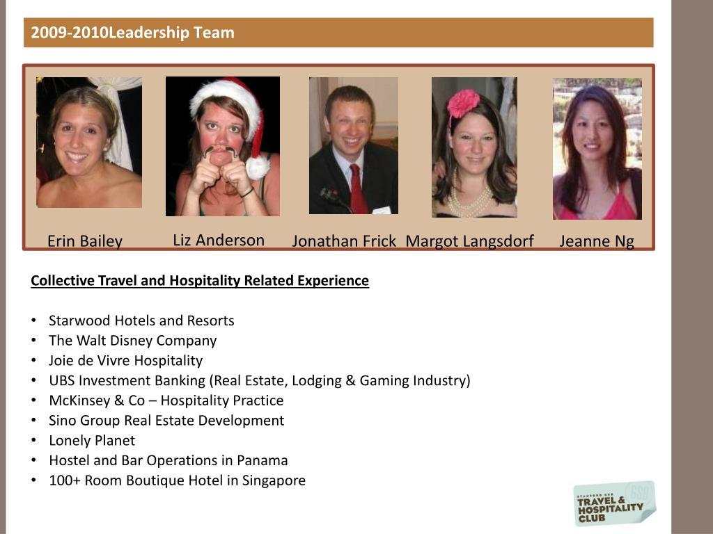 2009-2010Leadership Team