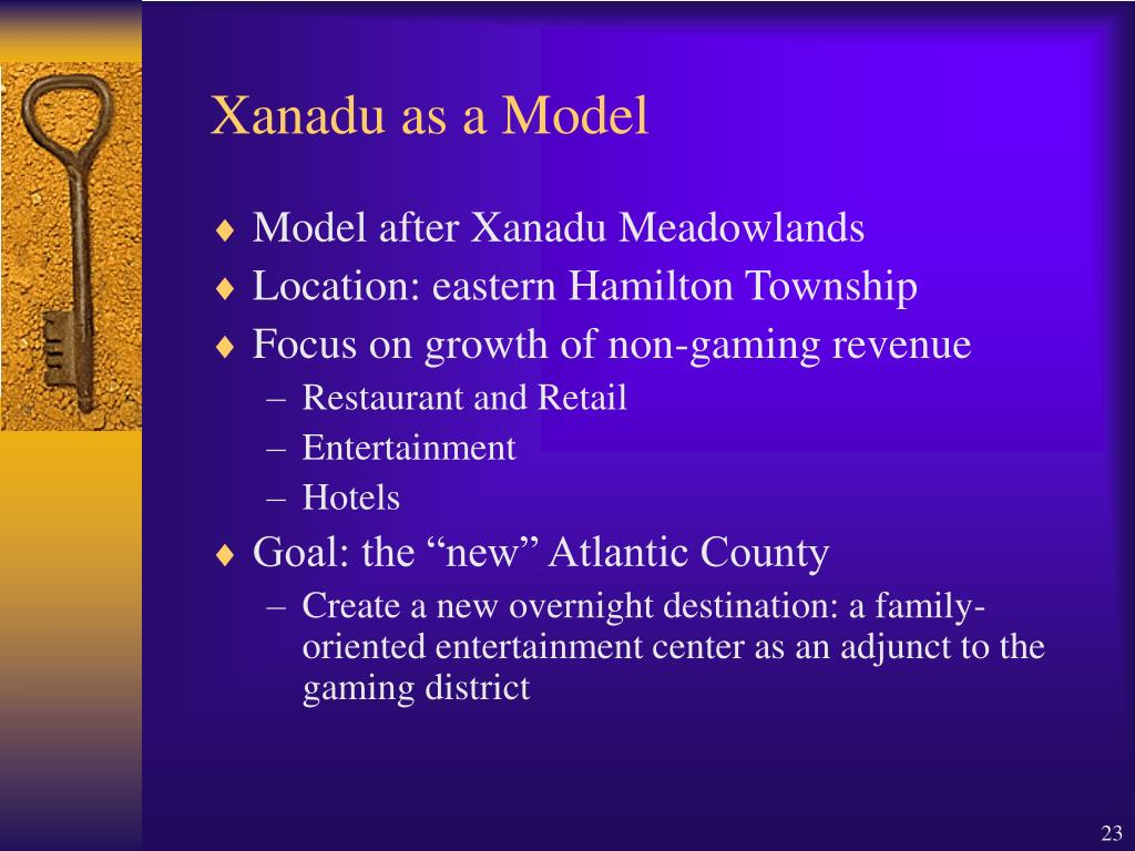 Xanadu as a Model
