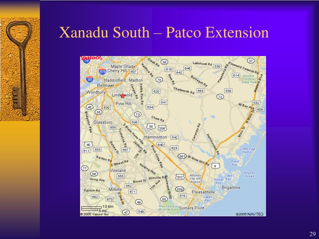 Xanadu South – Patco Extension