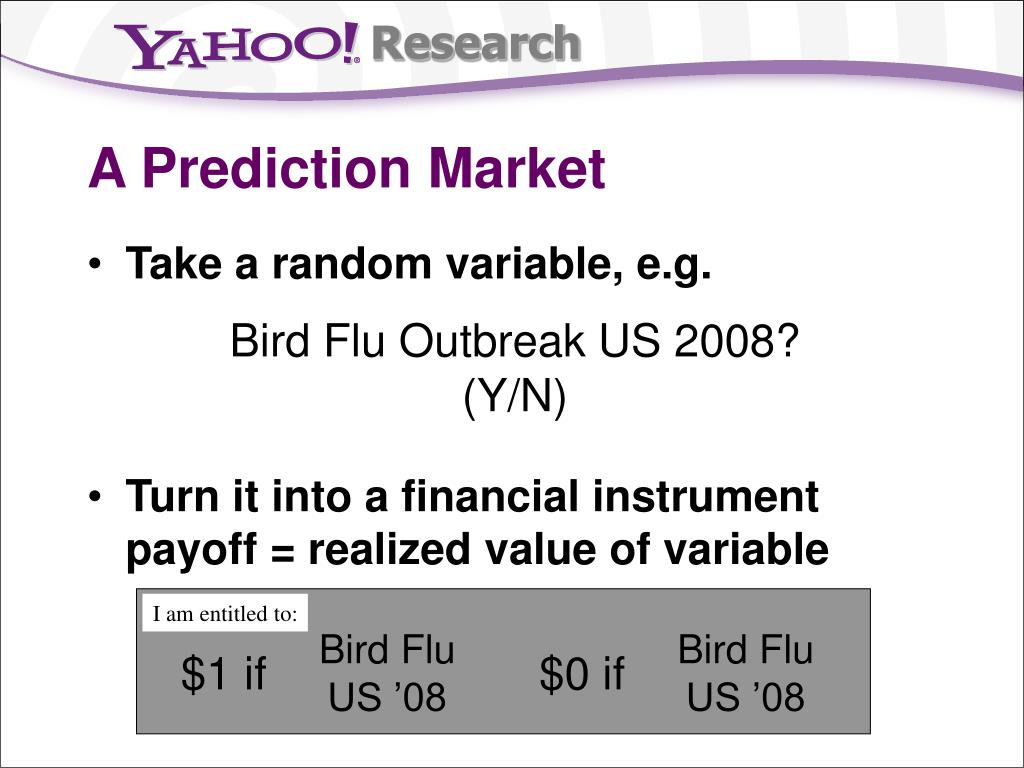 A Prediction Market