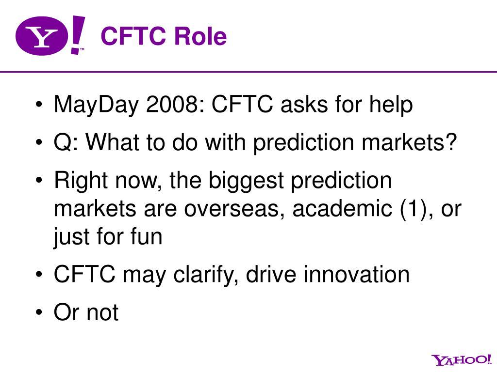 CFTC Role