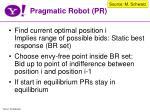 pragmatic robot pr