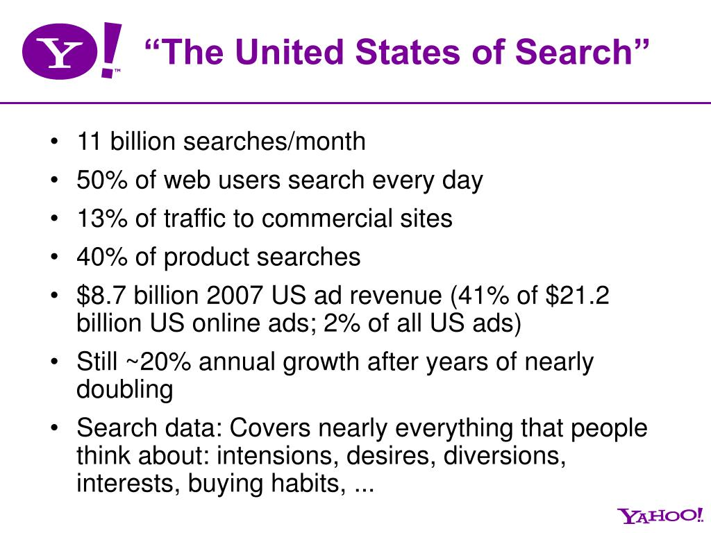 """The United States of Search"""