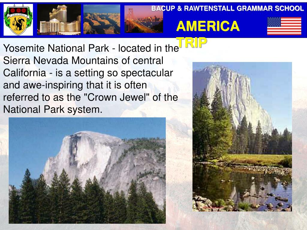 """Yosemite National Park - located in the Sierra Nevada Mountains of central California - is a setting so spectacular and awe-inspiring that it is often referred to as the """"Crown Jewel"""" of the National Park system."""