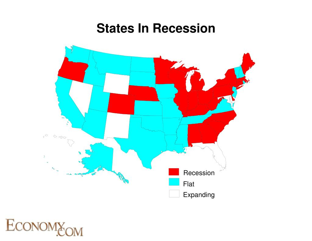 States In Recession