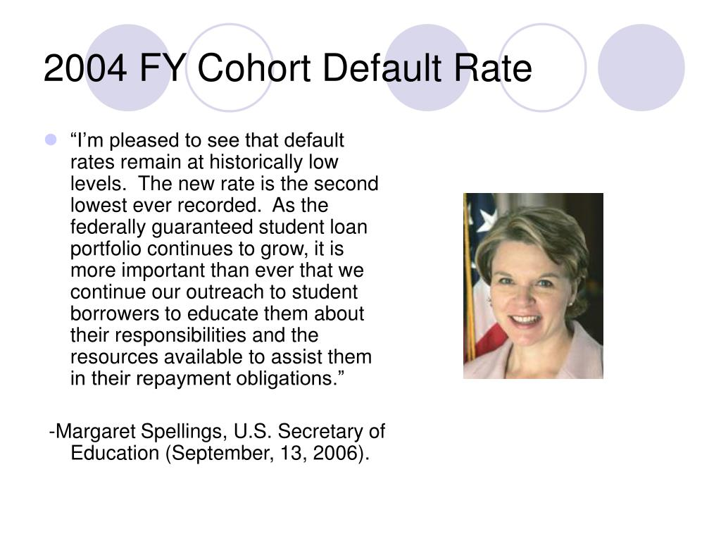 2004 FY Cohort Default Rate