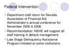 federal intervention27