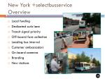new york selectbusservice overview