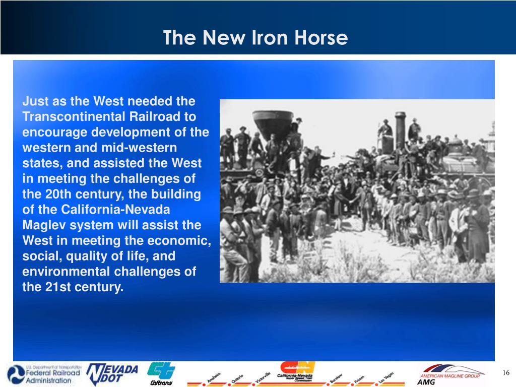 The New Iron Horse