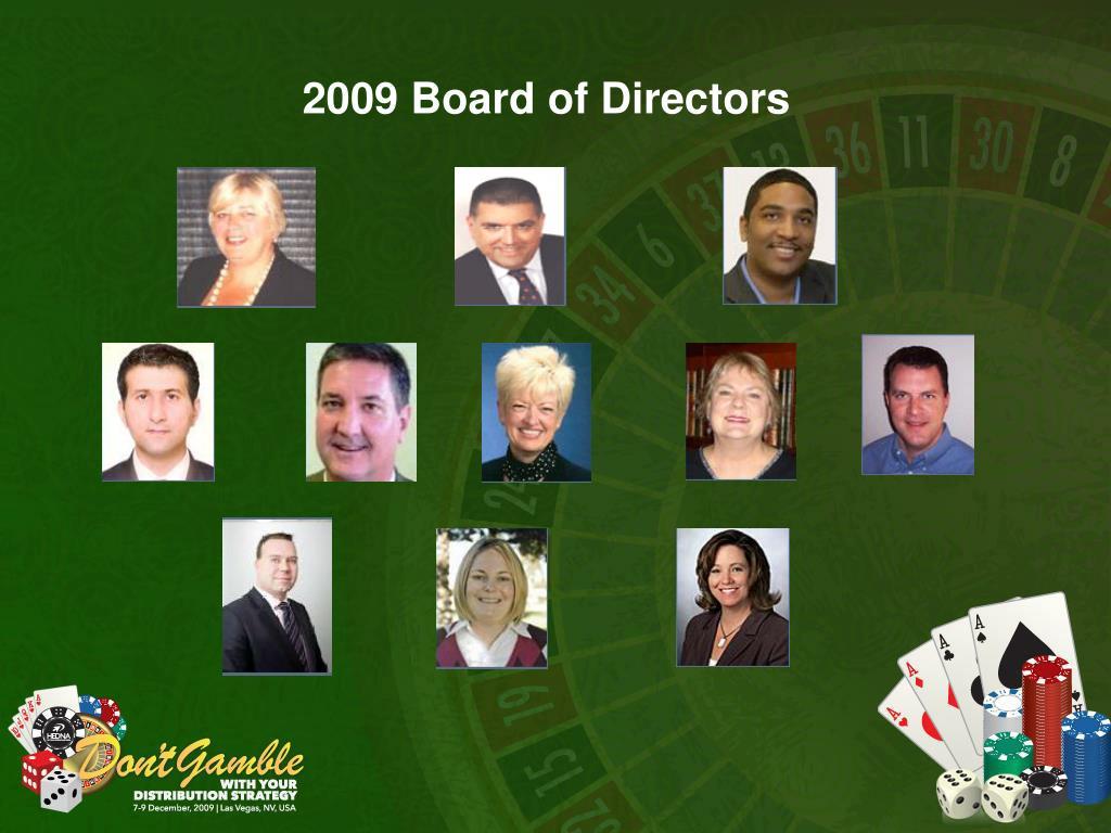 2009 Board of Directors
