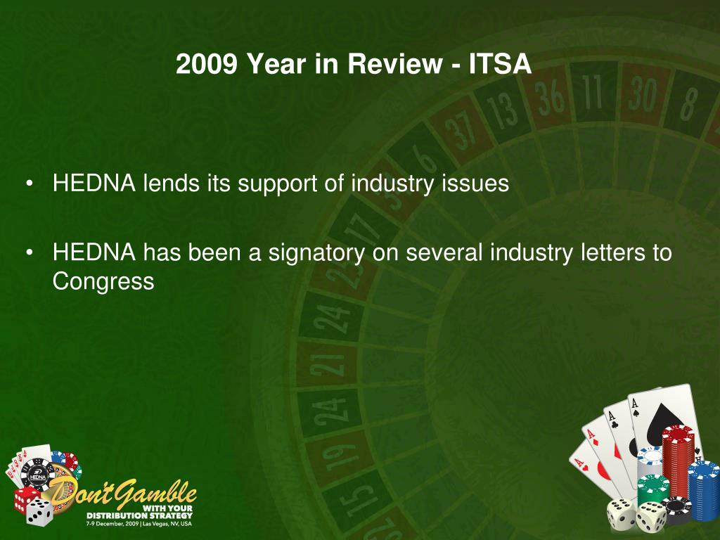 2009 Year in Review - ITSA