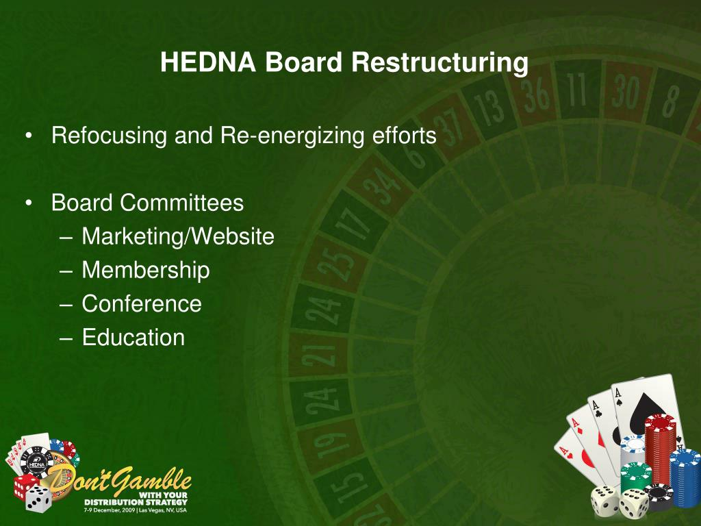HEDNA Board Restructuring