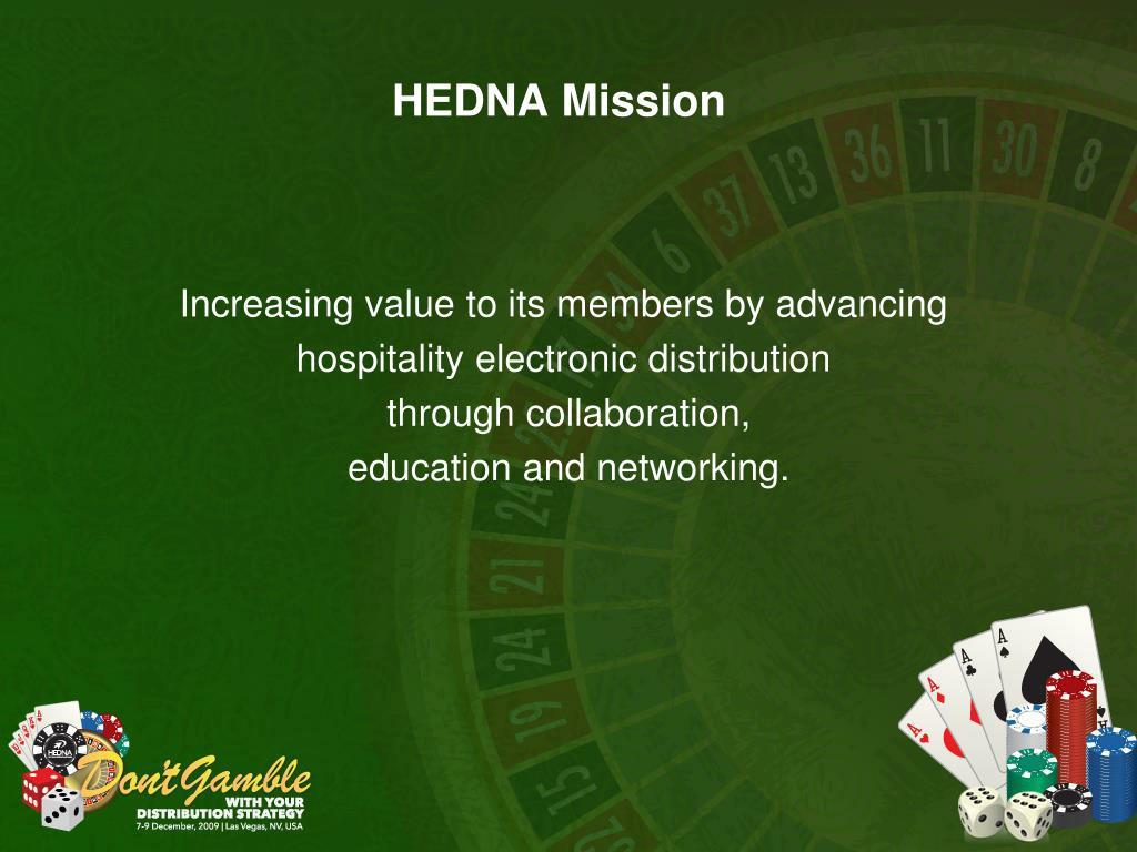 HEDNA Mission