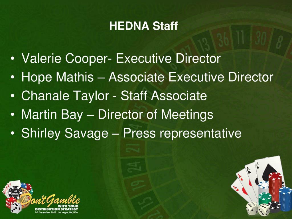 HEDNA Staff