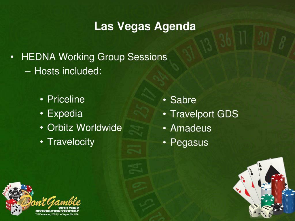 Las Vegas Agenda