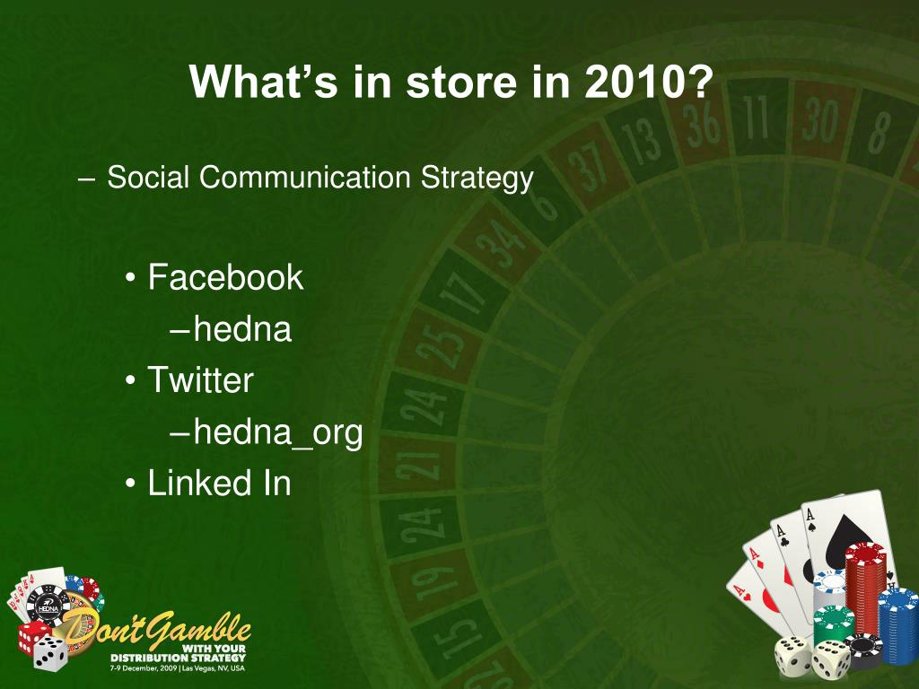 What's in store in 2010?