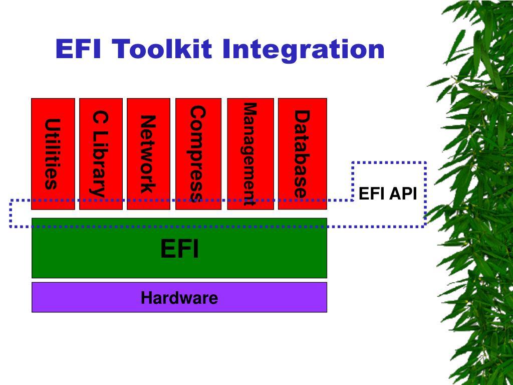 EFI Toolkit Integration