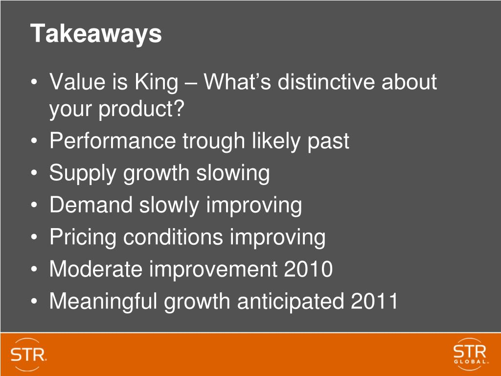 Value is King – What's distinctive about your product?