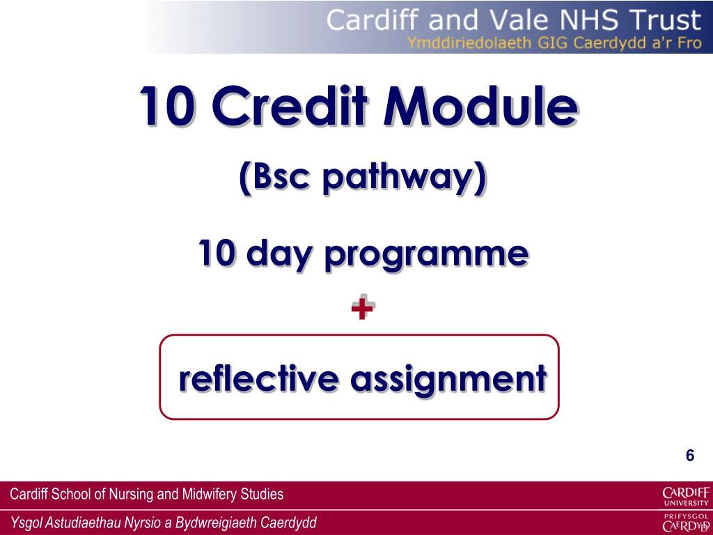 10 Credit Module