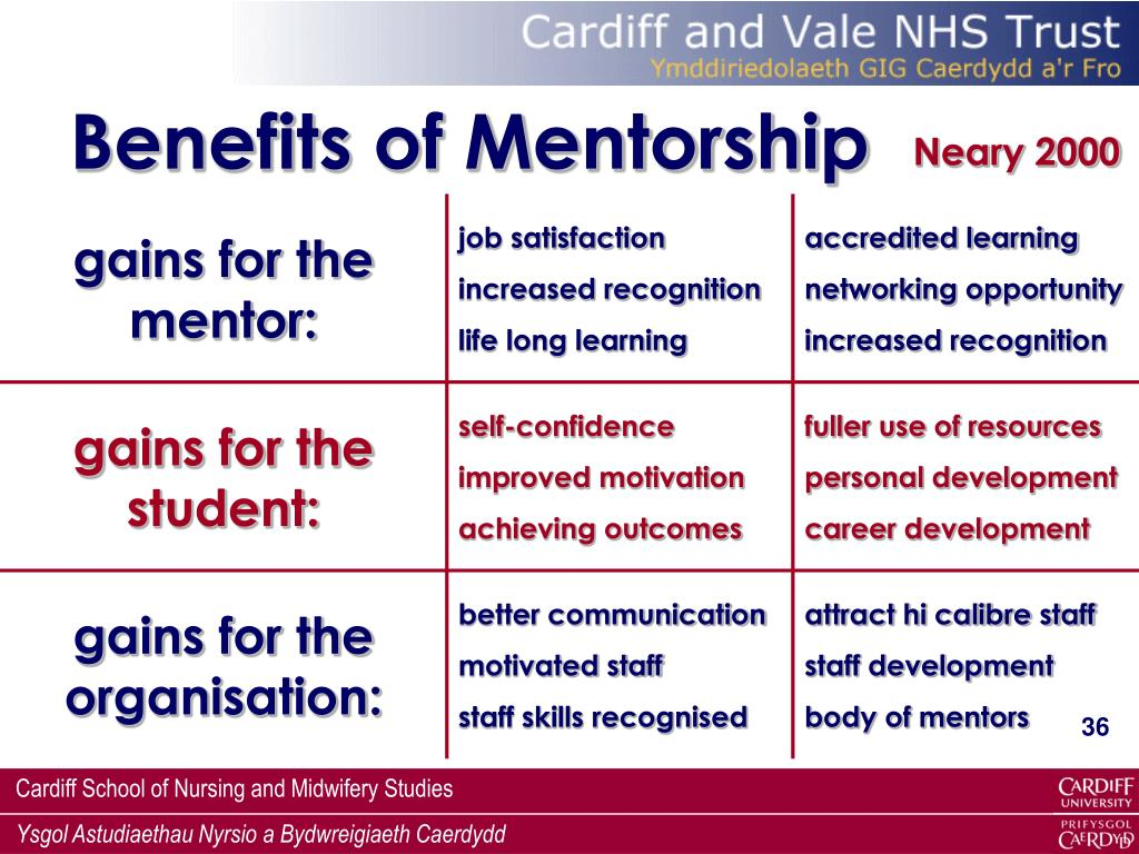 Benefits of Mentorship