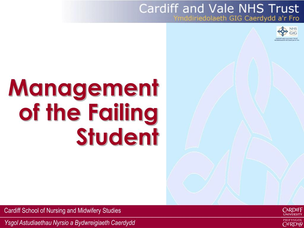 Management of the Failing Student