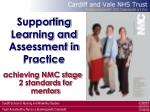 supporting learning and assessment in practice63