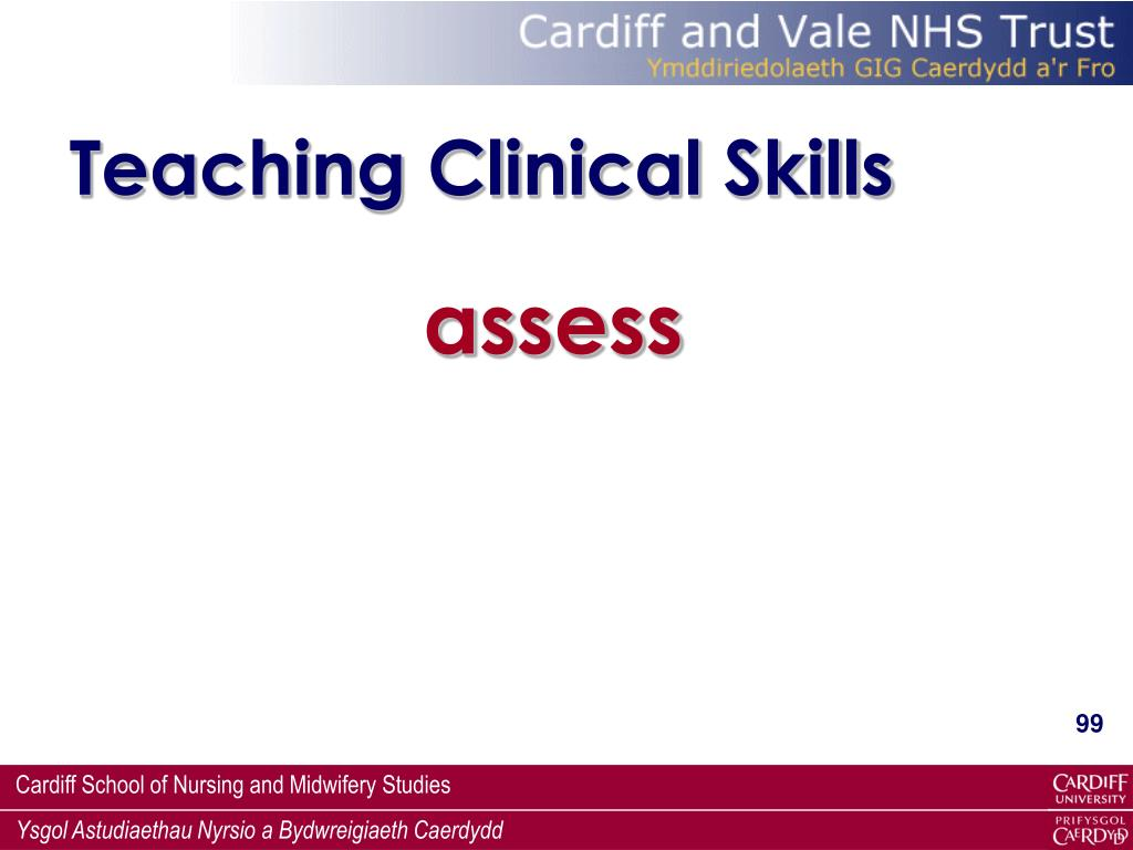 Teaching Clinical Skills