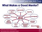 what makes a good mentor