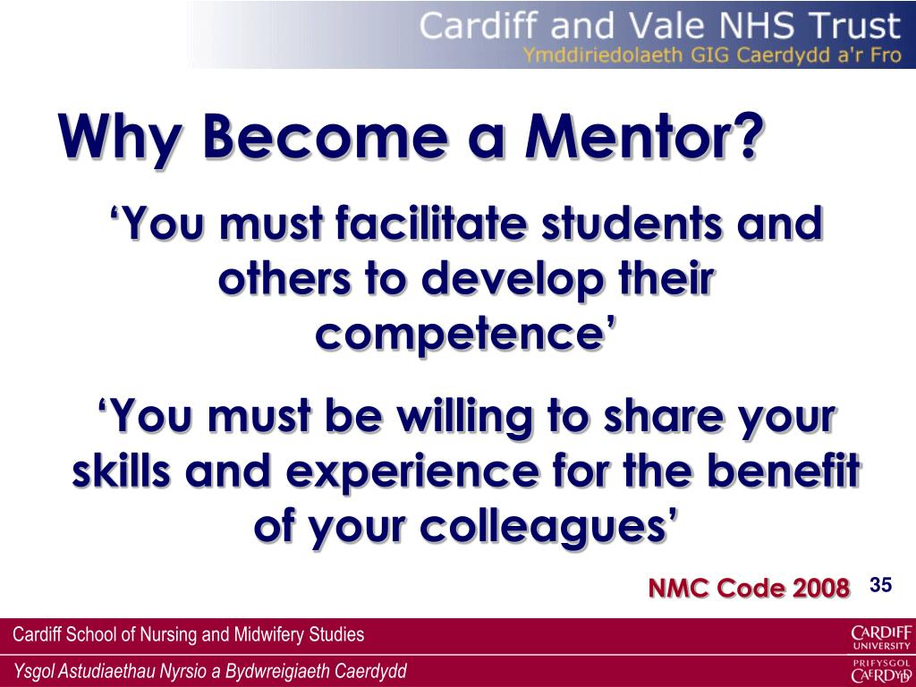 Why Become a Mentor?