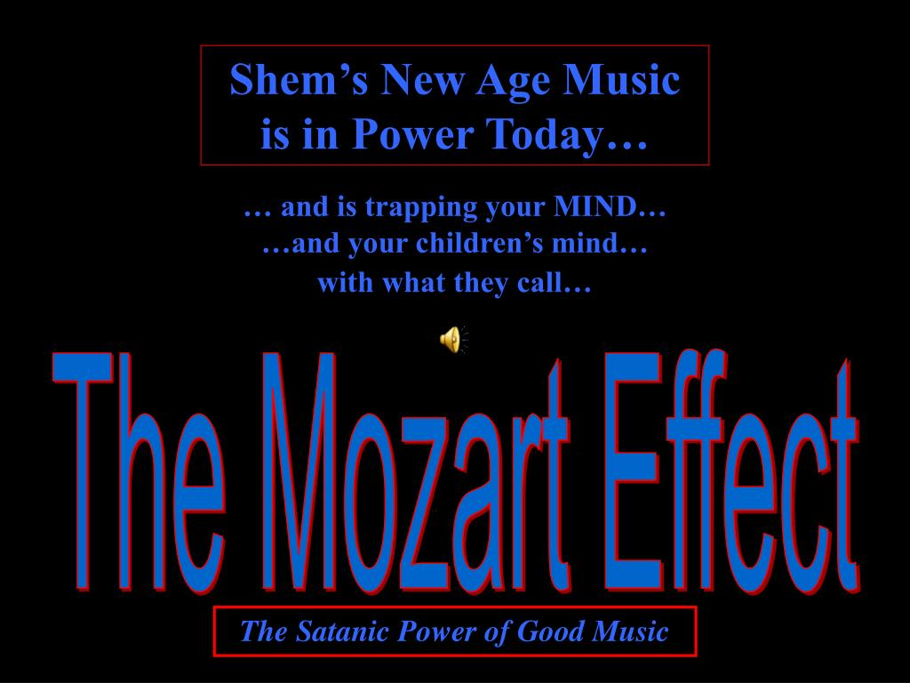 Shem's New Age Music is in Power Today…